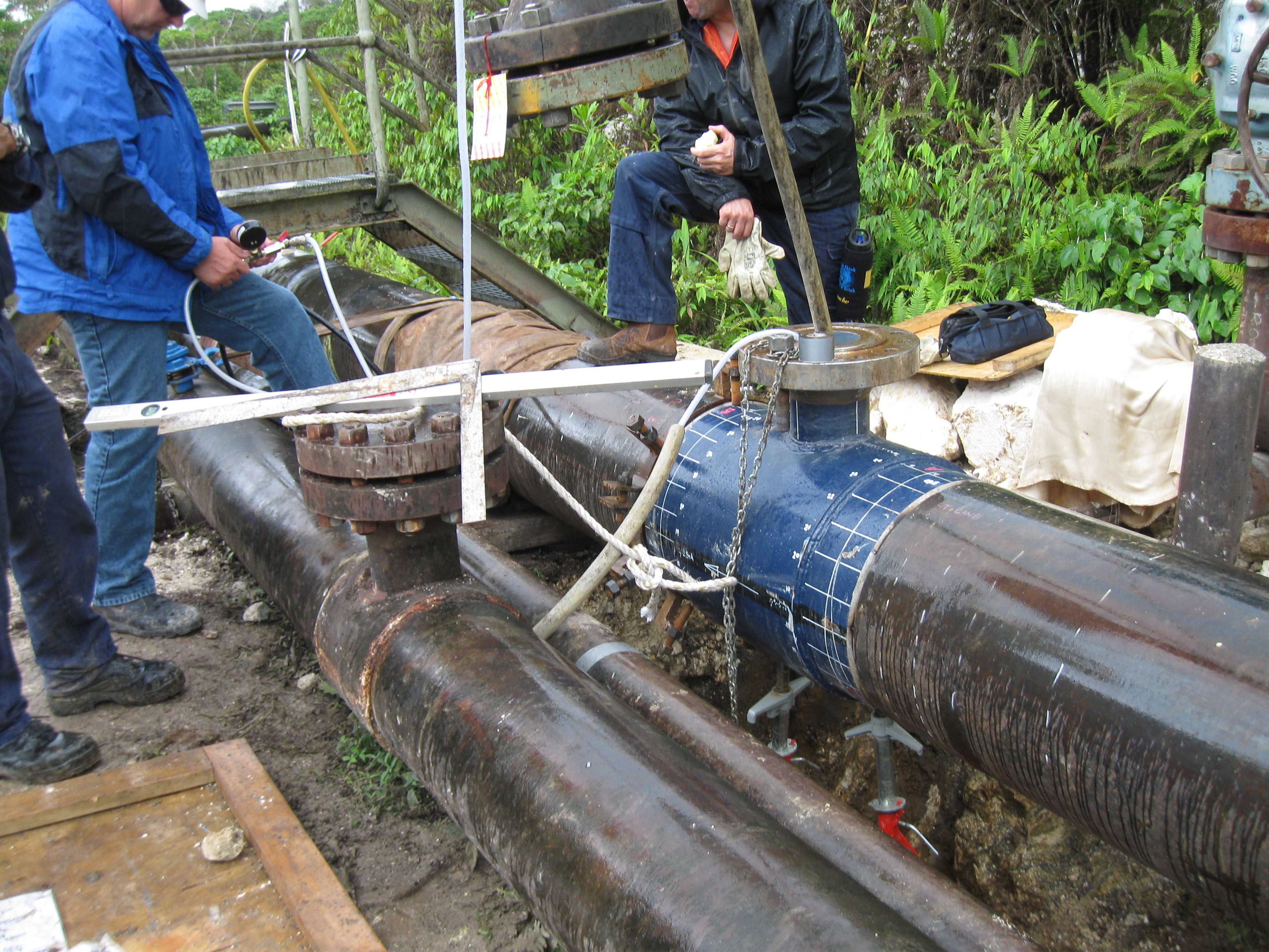 Technical Support – Gas Pipeline,  Oil Pipeline,  Water Pipeline